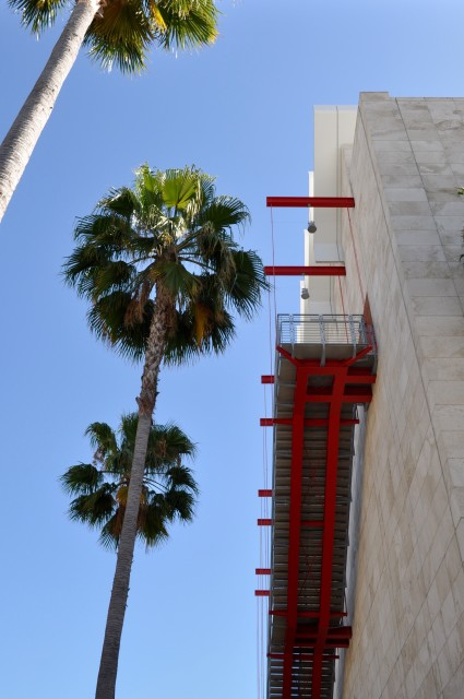 LACMA Abstract Stairway