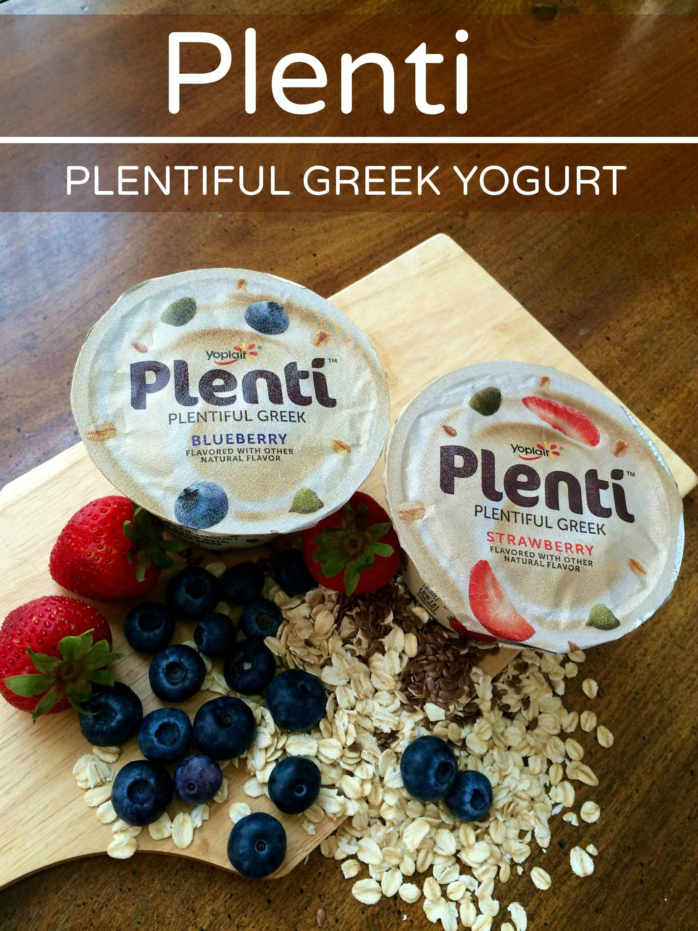 Plenti Greek Yogurt