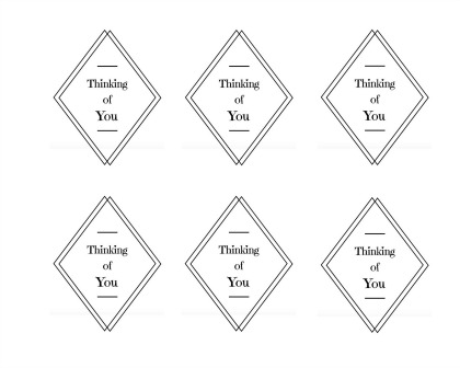 Thinking of You Gift Tags - Simple Sojourns