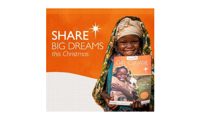 Give Gifts that Give Back with World Vision