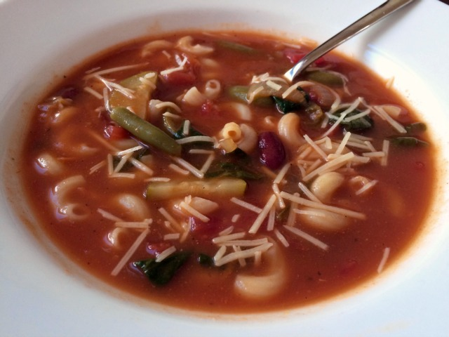 Minestrone Soup Bowl - Simple Sojourns