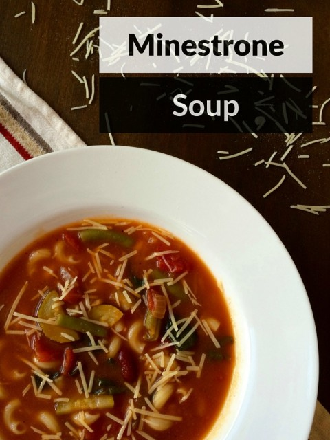 Minestrone Soup - Simple Sojourns