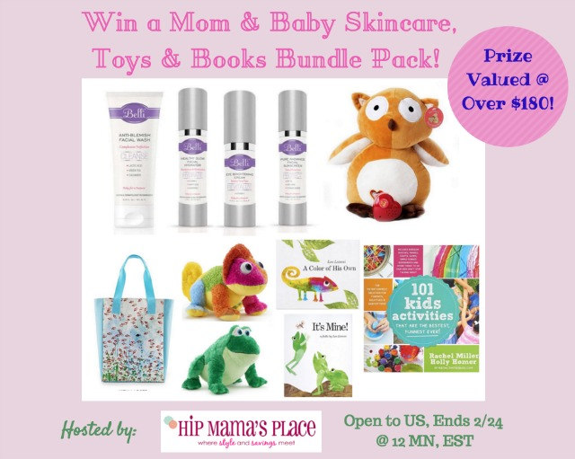 Valentine's Day Gift Ideas for Mom and Baby + Giveaway Prize Pack Worth Over $180!
