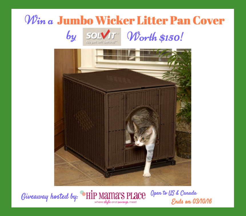 Wicker Litter Box Cover Giveaway