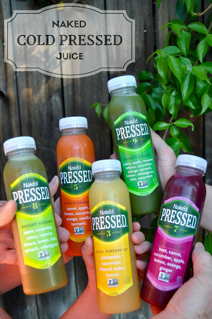 On the Go with Naked Cold Pressed Juice