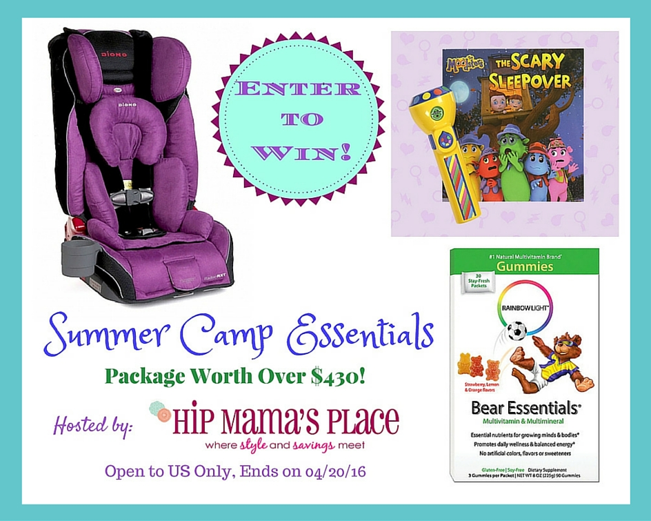 Summer Camp Essentials Giveaway