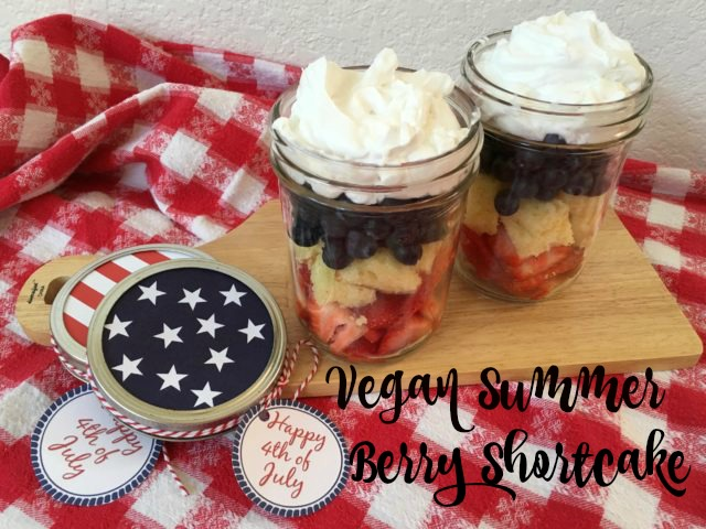 Vegan Summer Berry Shortcake