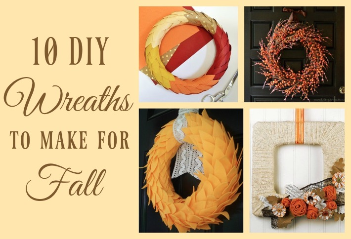 10 DIY Wreaths to Make for Fall