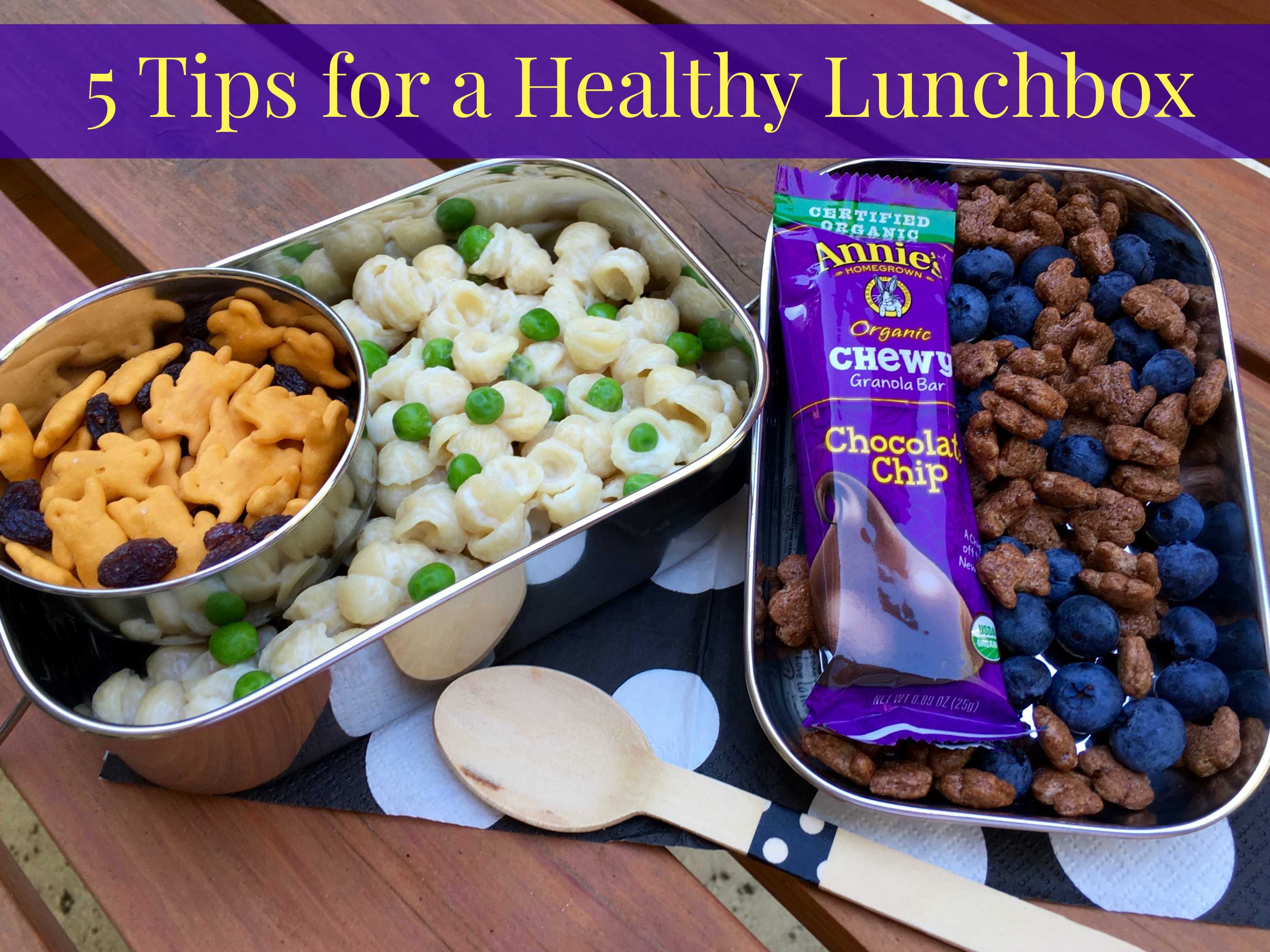 Top 5 Tips for a Healthy Lunchbox