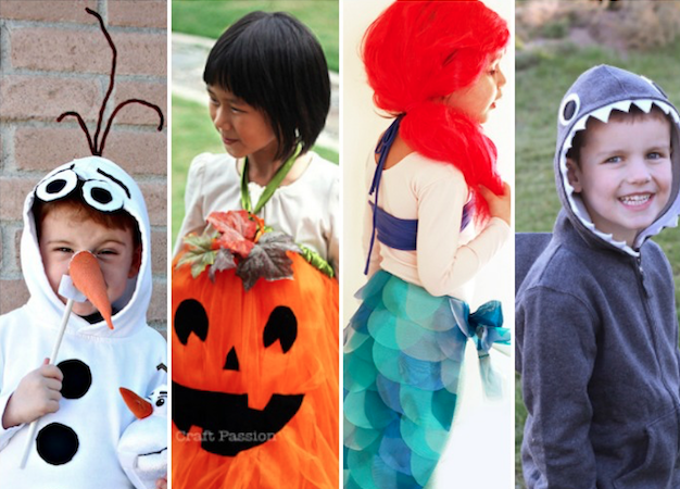 Best 40 DIY Halloween Costumes for Kids