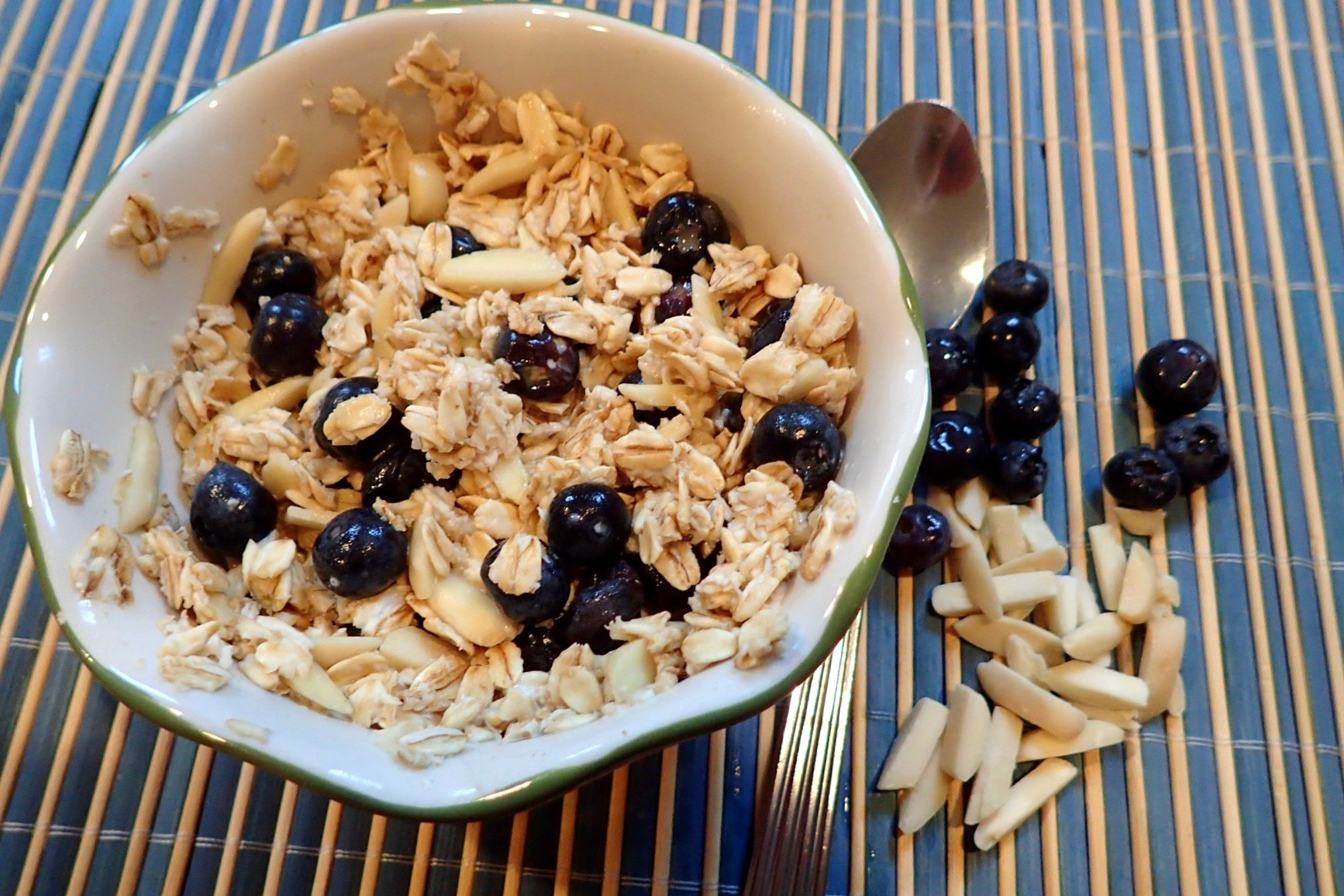 Blueberry Almond Oatmeal