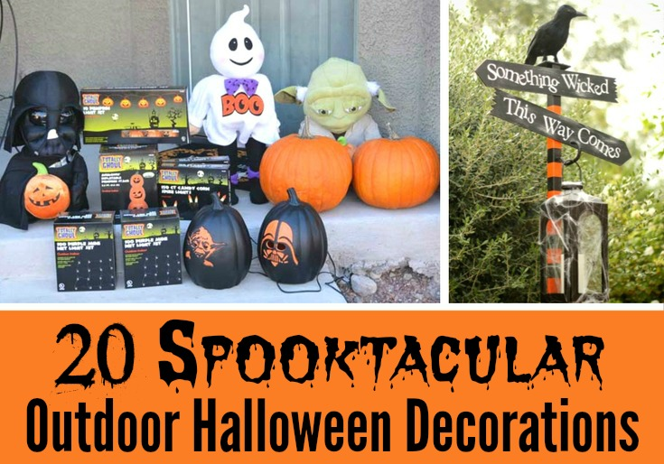 Best 20 Spooktacular Outdoor Halloween Decorations