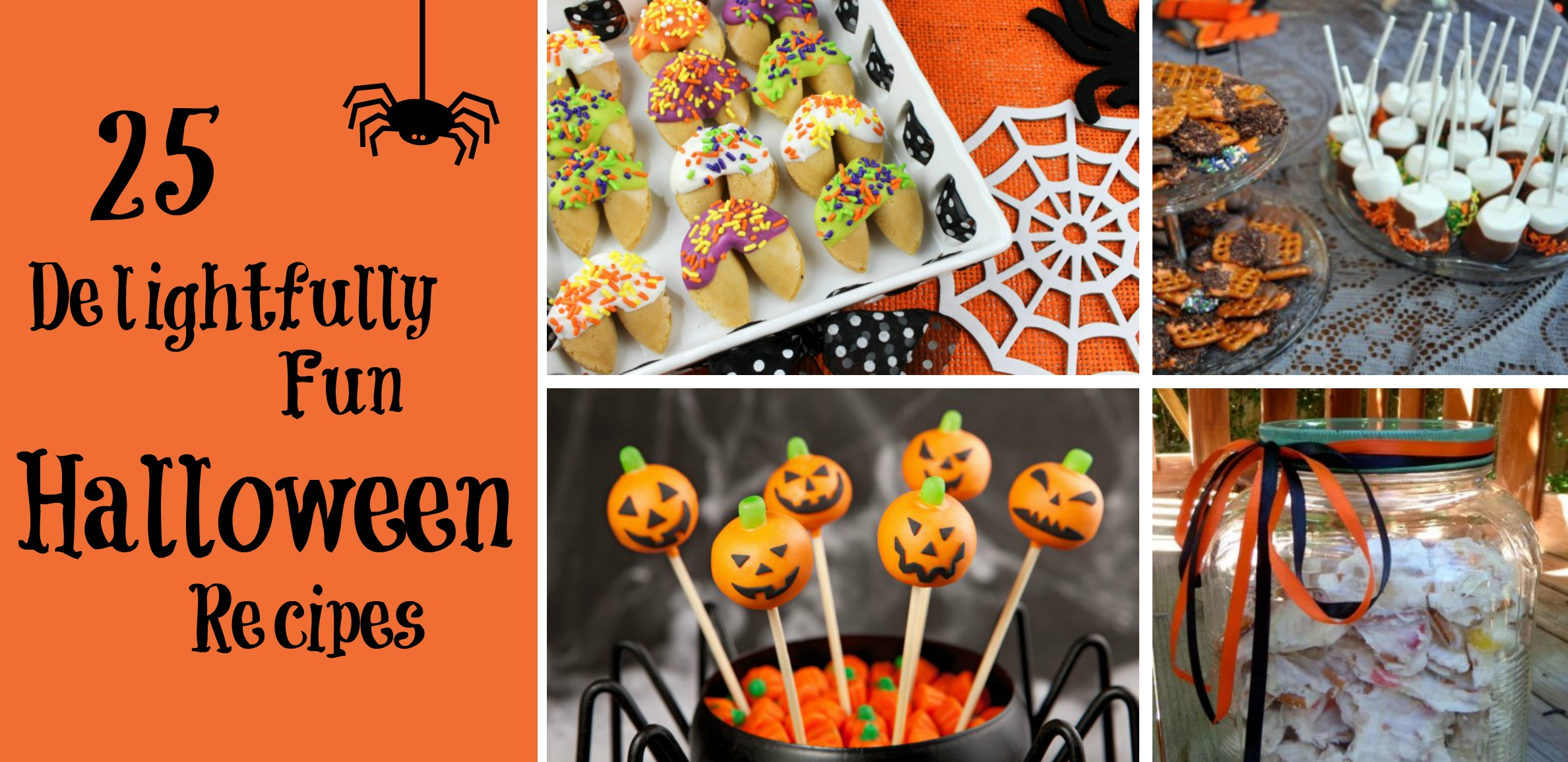 25 Delightfully Fun Halloween Recipes