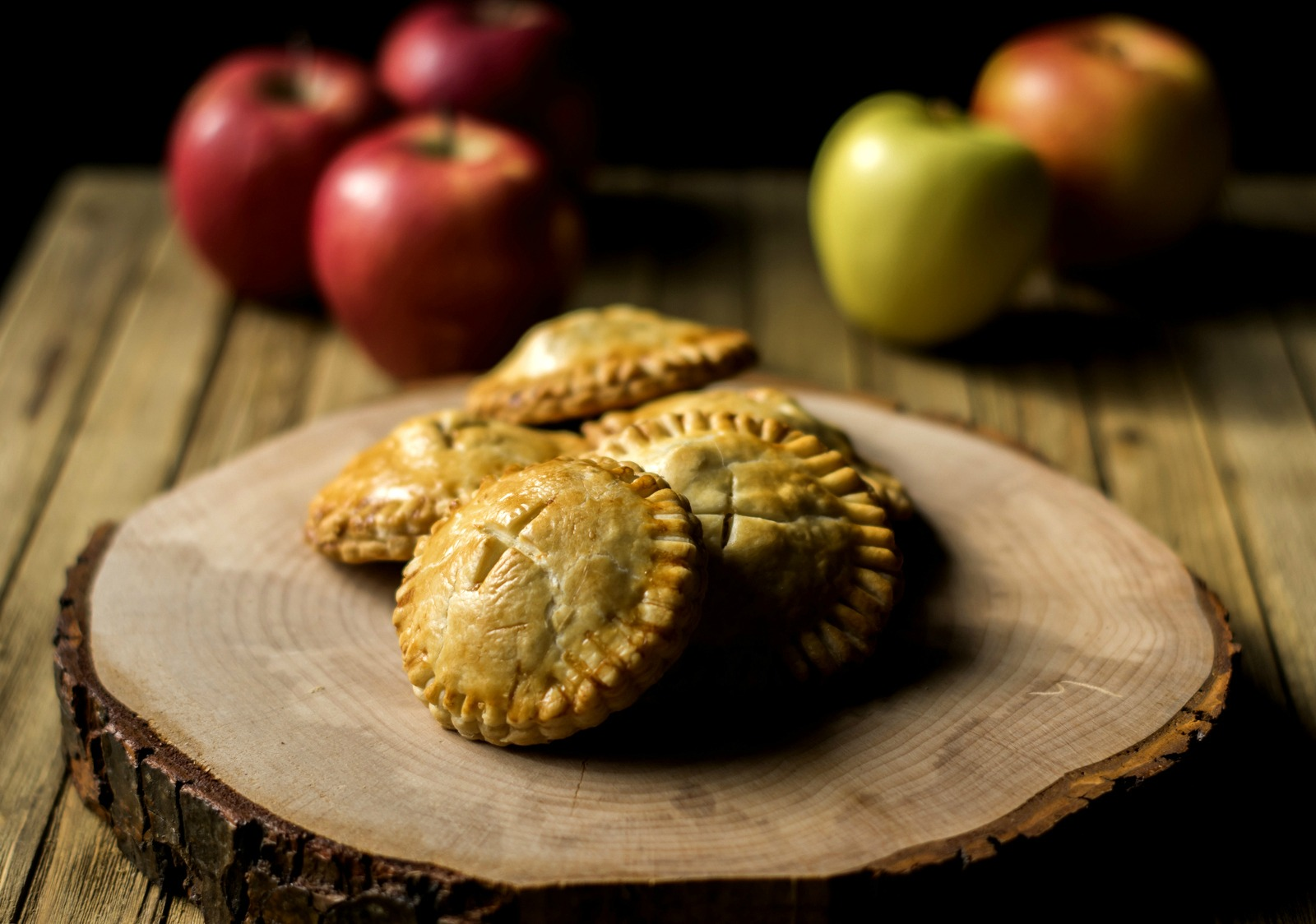 Mini Caramel Apple Hand Pies
