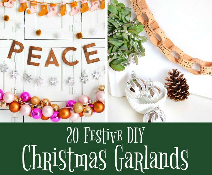 20 Festive DIY Christmas Garlands