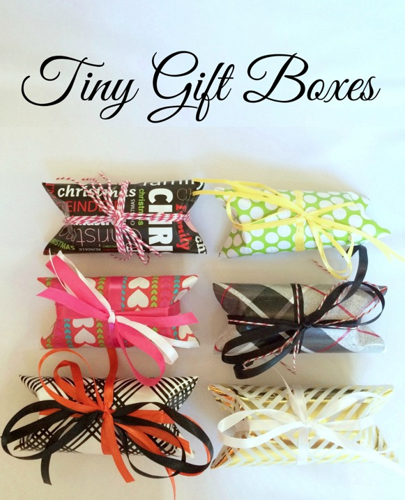 DIY Tiny Gift Boxes