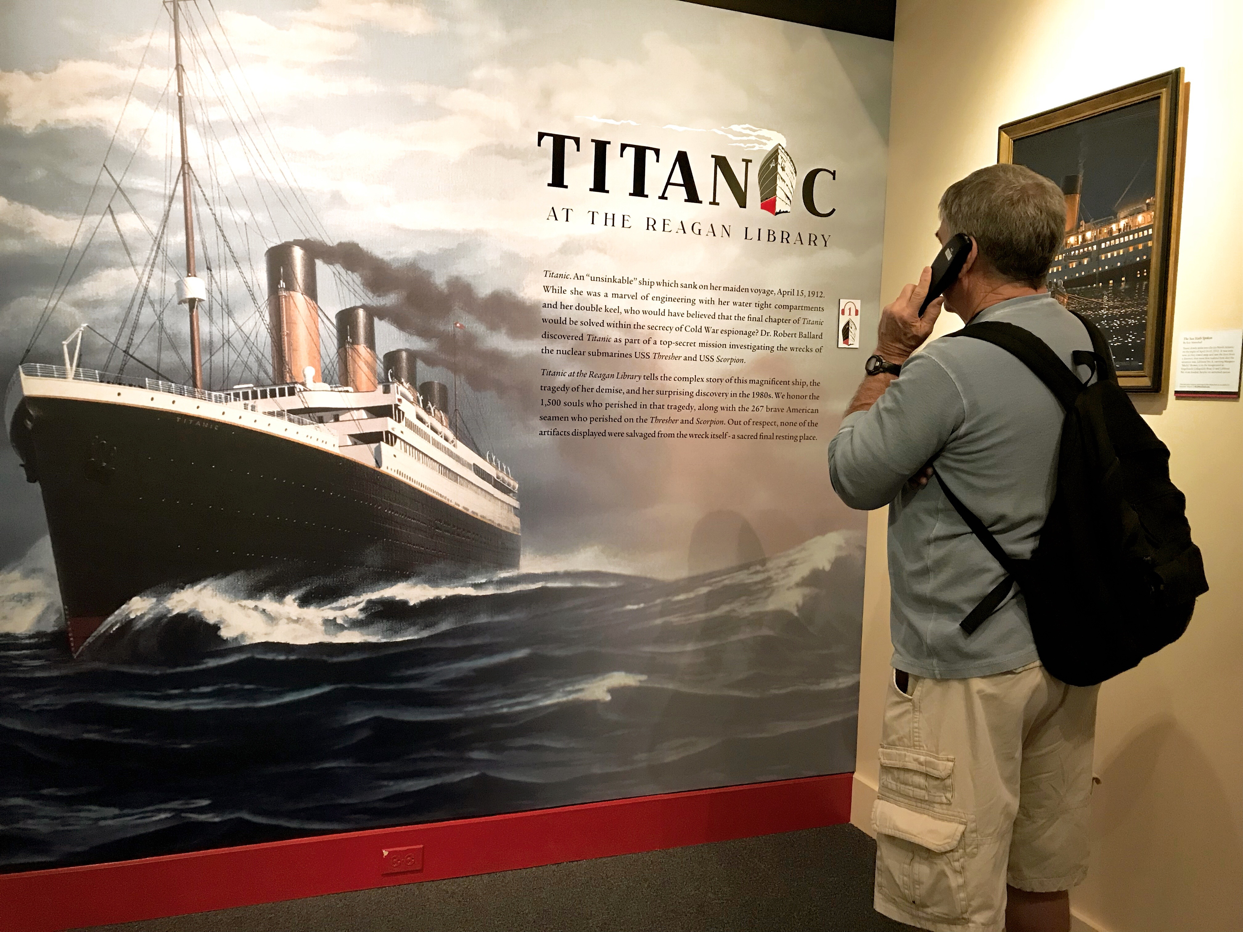 Reagan Library Titanic Exhibit